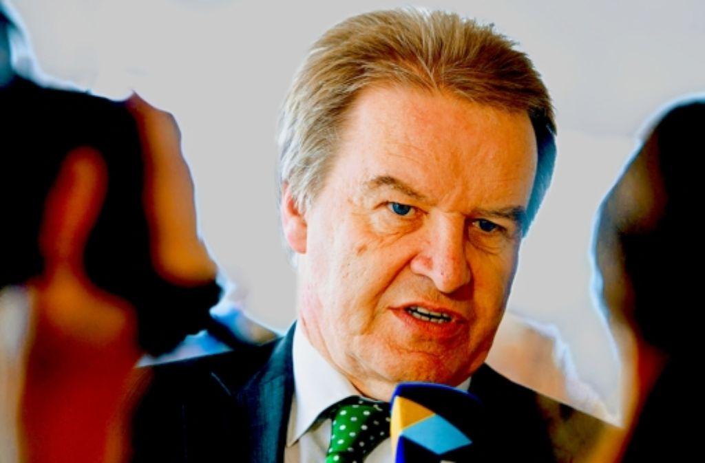 Auch der Umweltminister Franz Untersteller unterstützt die Bürgerinitiative. Foto: dpa