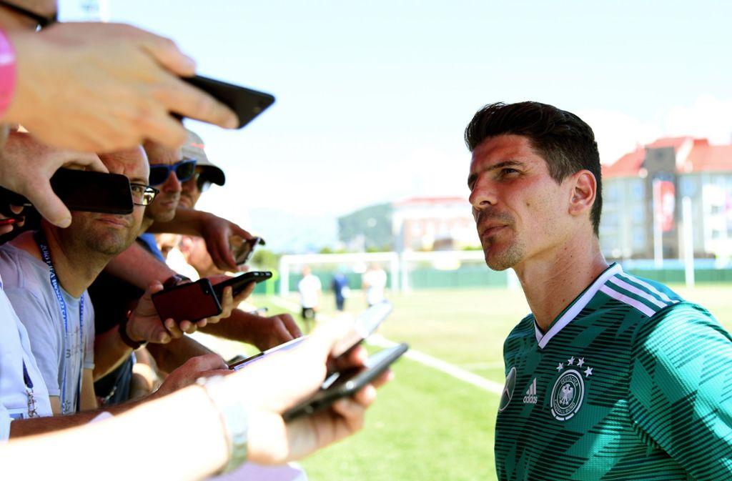 Gefragter Nationalspieler: Mario Gomez Foto: dpa