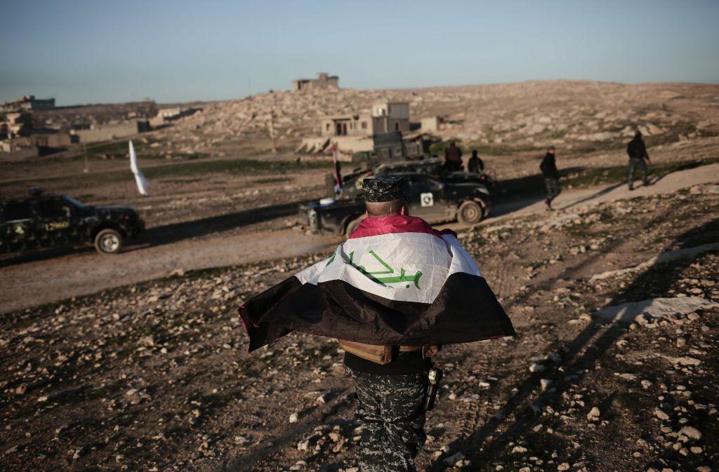 Nach Angaben von Premierminister Haidar al-Abadi hat die irakische Armee die Terrormiliz IS aus ihrem letzten Zufluchtsort im Westirak vertrieben. Foto: AP
