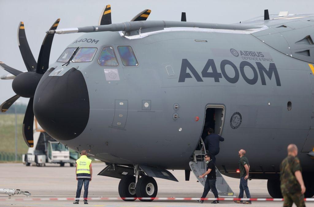 Allmählich sieht  die Luftwaffe in dem Sorgenkind A400M auch wieder einen Hoffnungsträger. Foto: dpa