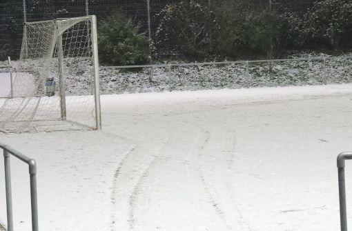 Schnee verhindert Fellbacher Heimspiel
