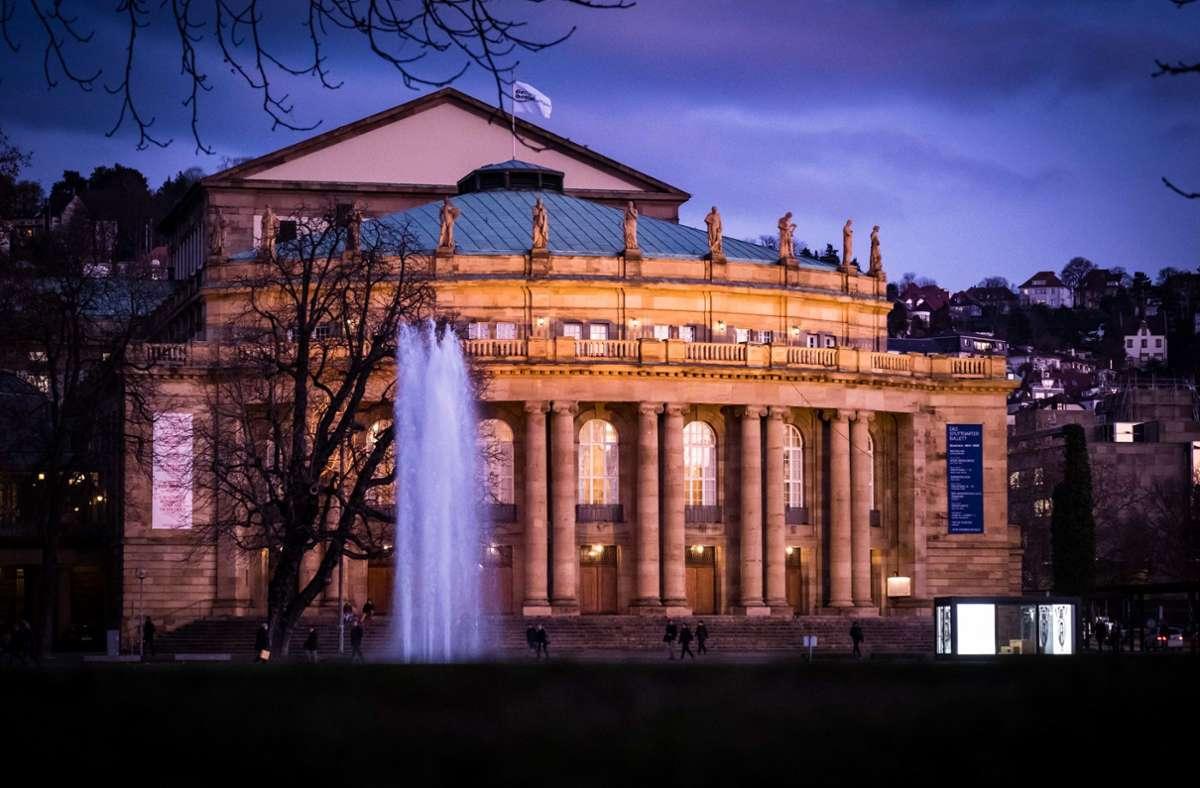 In der Diskussion: Das Stuttgarter Opernhaus muss dringend saniert werden. Foto: Lichtgut/Achim Zweygarth