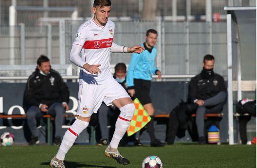 Matej Maglica steht wieder im Kader des VfB II