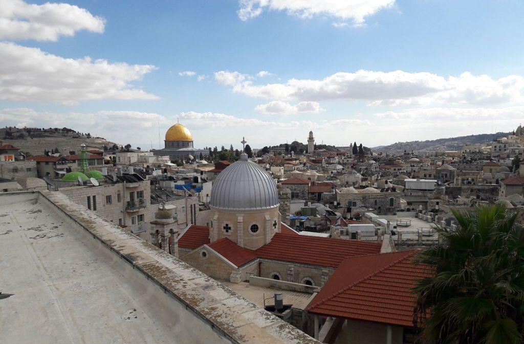 Mit einem Säbel fuchtelte der Gouverneur auf dem Balkon, schwadronierte von Großmachtphantasien und der Eroberung Jerusalems (Bild). Foto: dpa