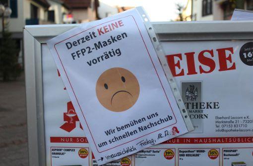 Plochinger Innenstadt beinahe menschenleer