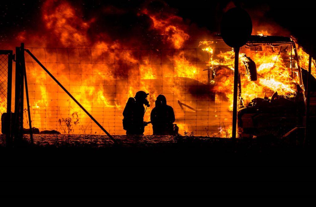 Die Polizei schätzt den Schaden auf rund 200 000 Euro. Foto: dpa