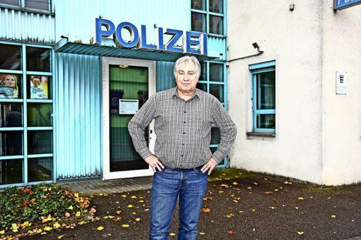 Schutzpolizist der alten Schule
