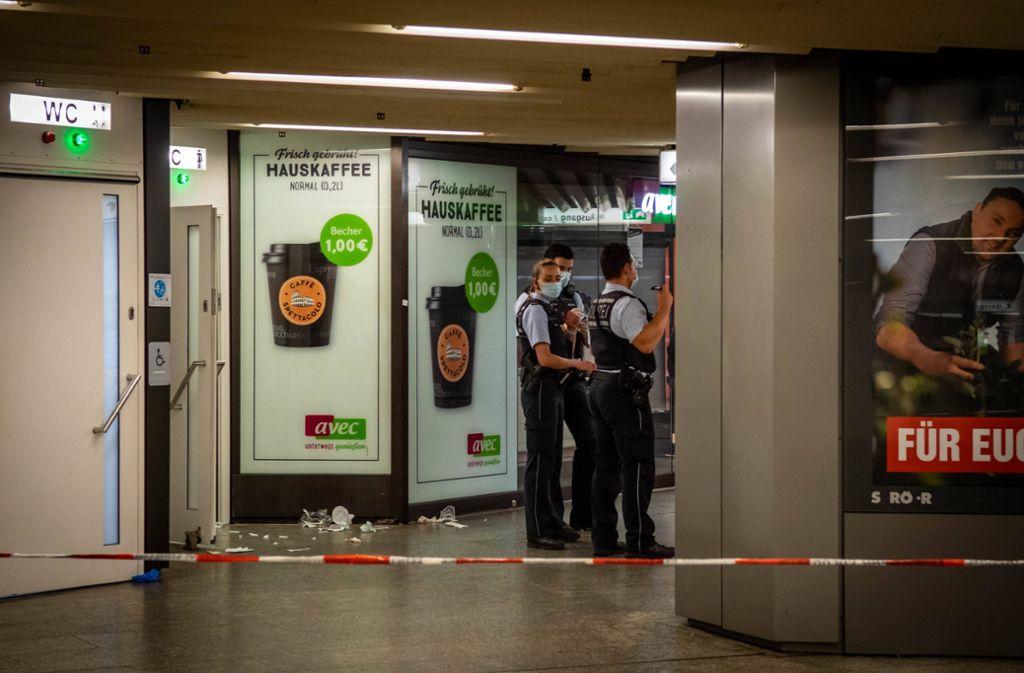 Der Streit brach an den Toilettenanlagen der Klett-Passage aus. Foto: 7aktuell.de/Nils Reeh