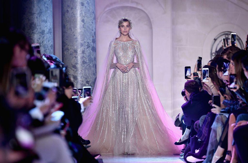 Das Highlight der Haute-Couture-Show von Elie Saab. Foto: Getty Images Europe