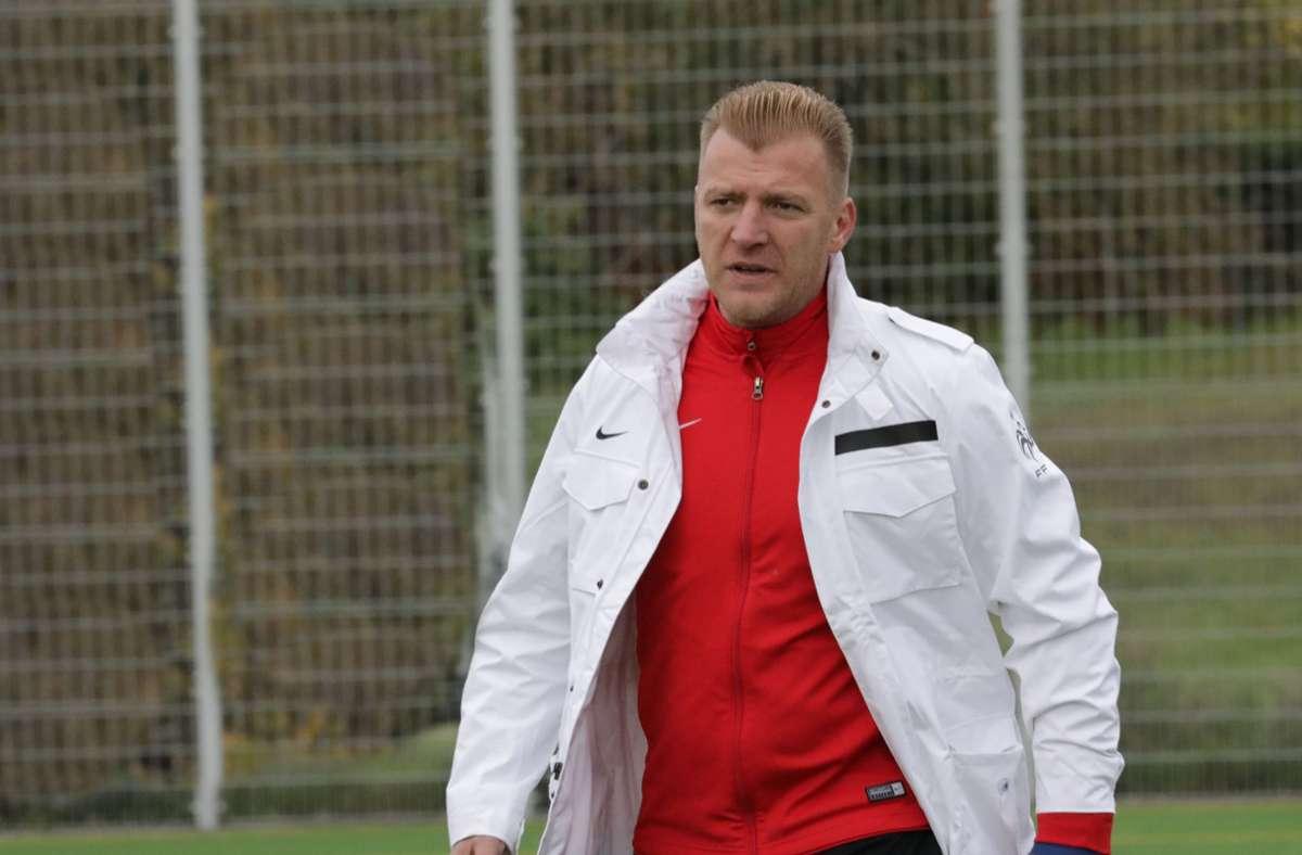 Der Oeffinger Trainer Haris Krak. Foto: Patricia Sigerist