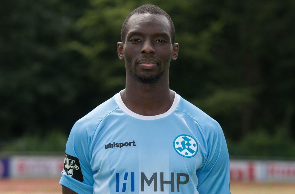 Lhadji Badiane stürmt weiter für die Stuttgarter Kickers. Foto: Bongarts