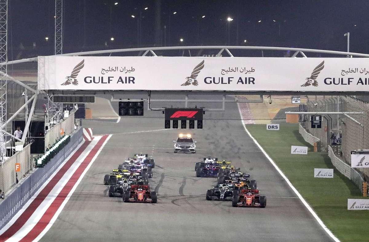 Der erste Grand Prix des neuen Jahres ist am 28. März in Bahrain geplant (Archivbild). Foto: dpa/Hassan Ammar