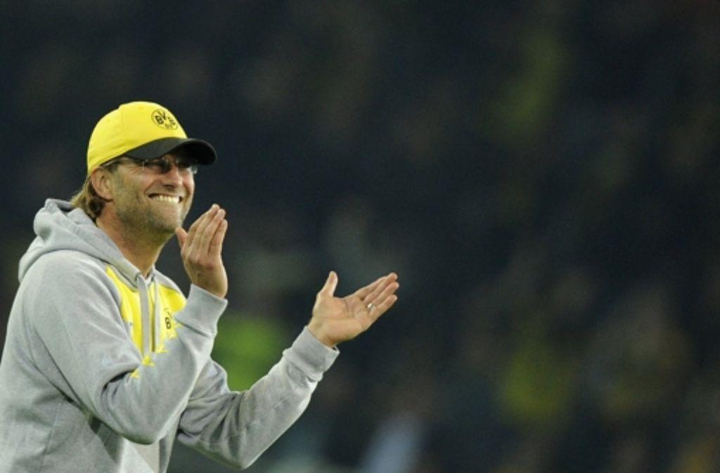 Der Borussen-Trainer Jürgen Klopp ist für viele Vorbild. Zu Recht? Foto: dpa