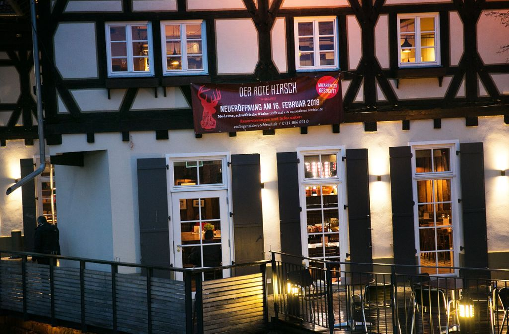 The Red Deer was opened in the old carpentry in Esslingen just over two years ago. Photo: Ines Rudel / archive
