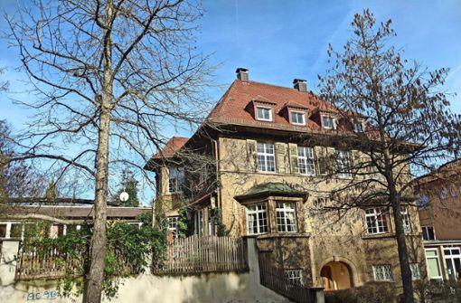 Die Villa der Freien Hochschule wird saniert