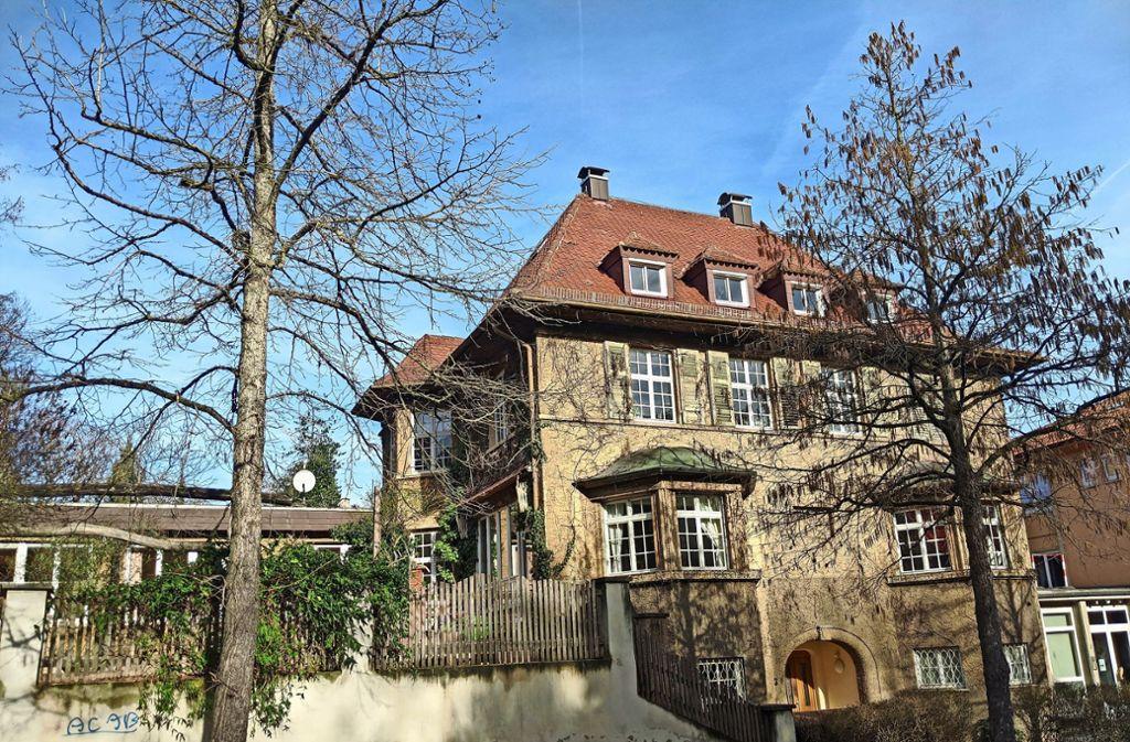 Die Villa der Freien Hochschule an der Libanonstraße, gebaut 1913. Foto: Jürgen Brand