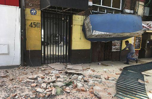 Mehr als 65 Tote nach Erdbeben in Mexiko