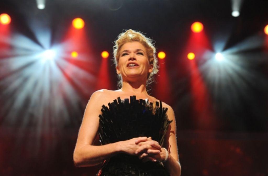 Anke Engelke bei der Eröffnungsgala der 61. Internationalen Filmfestspiele von Berlin. Foto: dpa