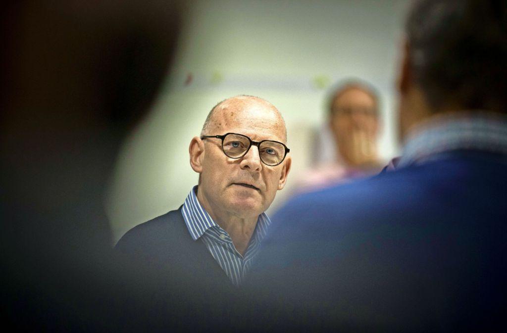 Verkehrsminister Winfried Hermann will Fahrverbote vermeiden. Foto: Lichtgut/Leif Piechowski