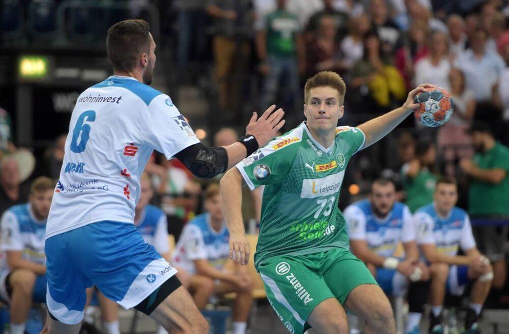 Viggo Kristjansson (rechts) ist wohl bald eine Teamkollege von Dominik Weiß. Foto: imago/C/hristian Modla