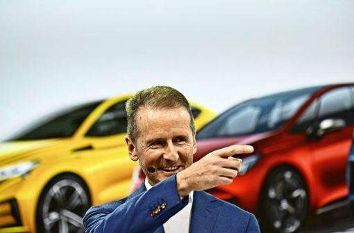 Volkswagen beschleunigt Elektroauto-Offensive