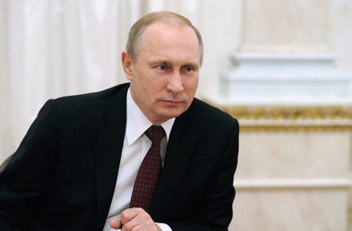 Putin erhöht Druck mit Gesetz