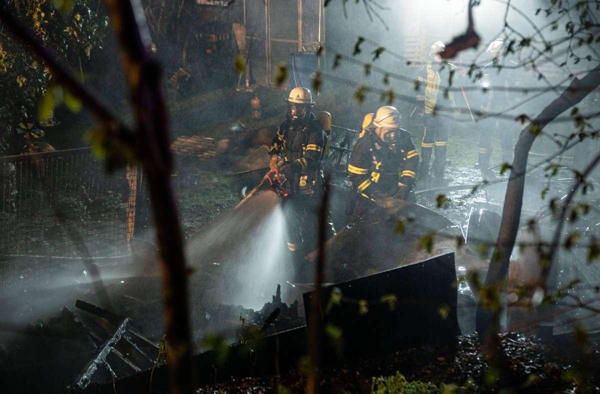 Die Feuerwehr rückte in der Nacht zum Sonntag in Vaihingen an der Enz aus. Foto: 7aktuell.de/ JB/7aktuell.de | JB