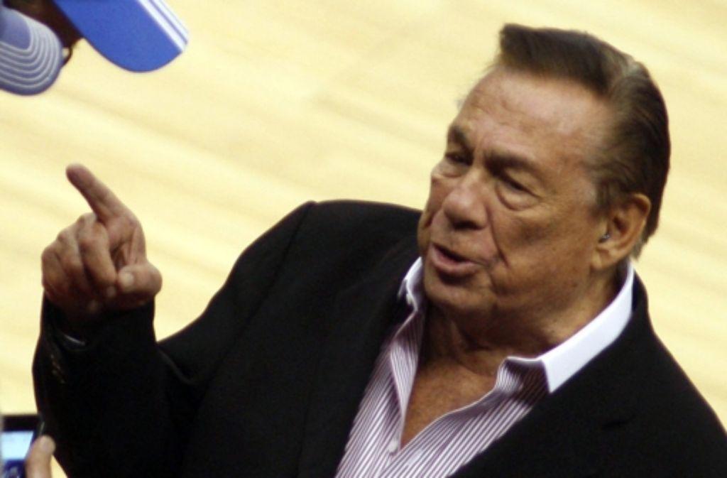 Donald Sterling hat dem Verkauf der Clippers an Microsoft-Chef Steve Ballmer zugestimmt. Foto: dpa