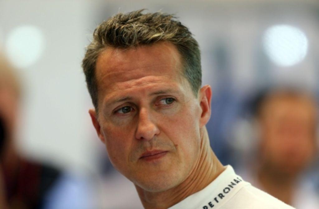 Befindet sich weiter im Krankenhaus von Grenoble: Michael Schumacher. Foto: dpa