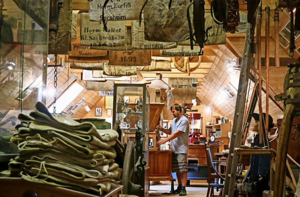 Die Mehlherstellung ist ein  altes Handwerk, wie Foto: factum/Granville