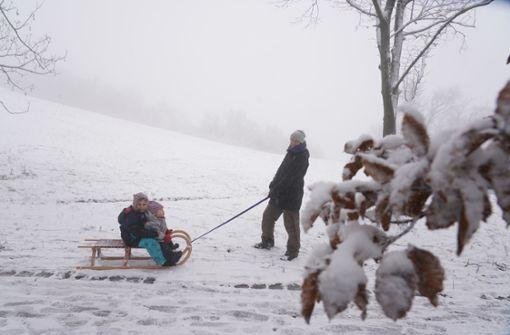 Am Dreikönigstag kommt der Schnee zurück