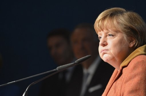 Stuttgart 21 lässt auch Angela Merkel nicht kalt. Foto: dpa