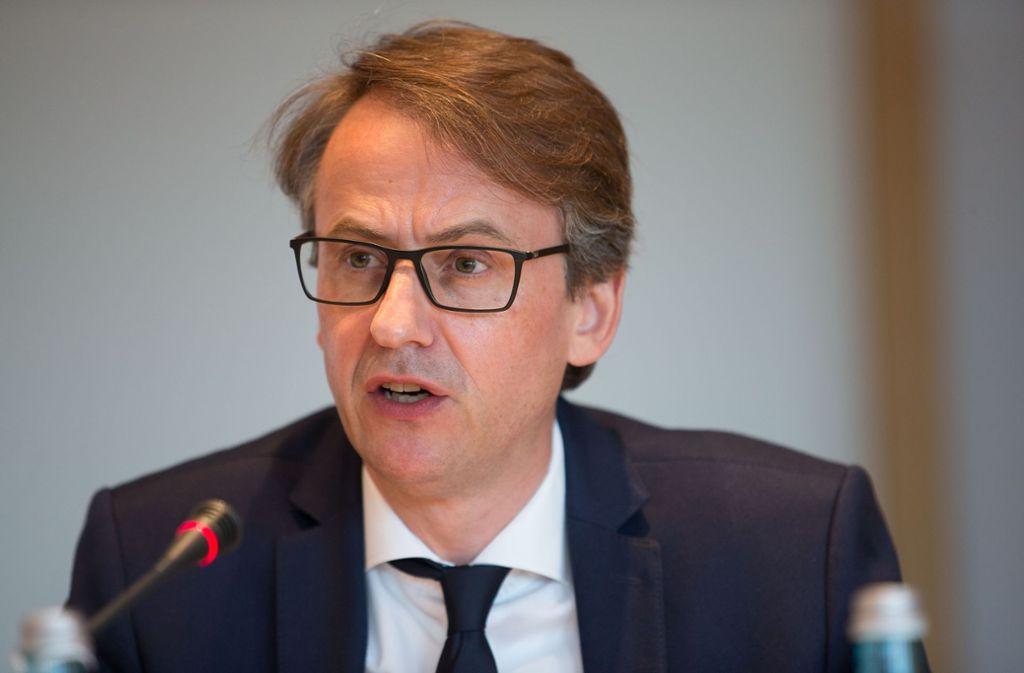 Die sich abzeichnenden Änderungen bei der Grundsteuer beschäftigen Finanzbürgermeister Michael Föll. Foto: Lichtgut/Leif Piechowski
