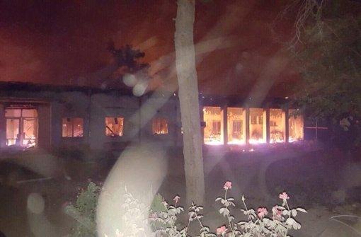 US-Jets bombardieren versehentlich Klinik