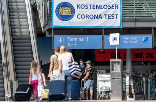 Gratis-Coronatests für Urlauber aus Nicht-Risikogebieten enden