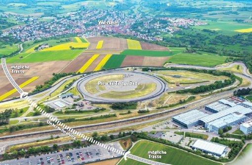 Porsche-Tunnel kostet   15 Millionen