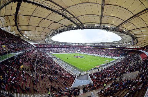 Der Weltmeister beehrt die Mercedes-Benz-Arena