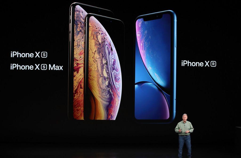 Beim neuen iPhone Xs und Xs Max verzichtet Apple auf den Home-Button. Foto: Getty