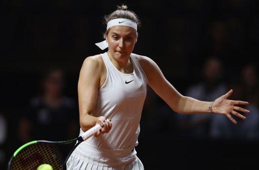 Antonia Lottner verliert Auftakt gegen 15-Jährige