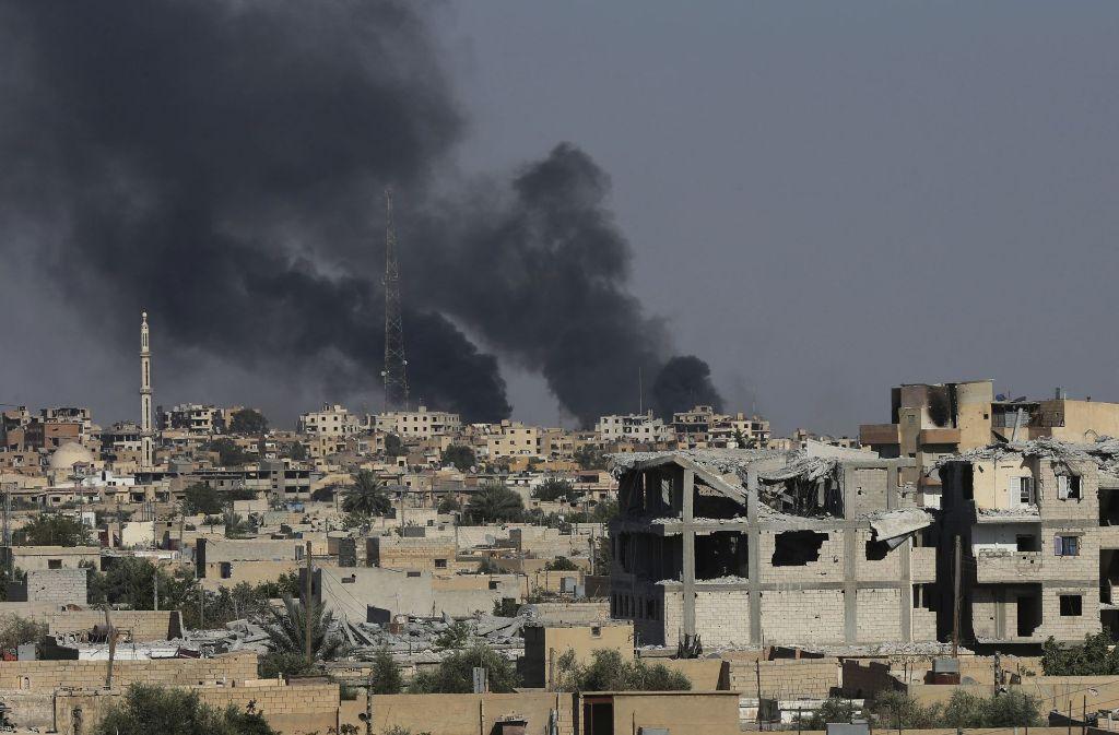 IS in syrischer Ex-Hochburg Rakka geschlagen