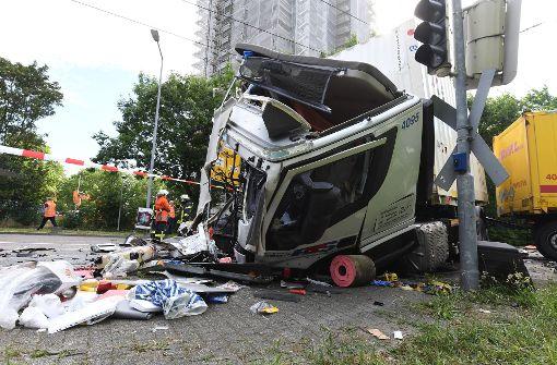 Neun Verletzte bei Straßenbahnunfall