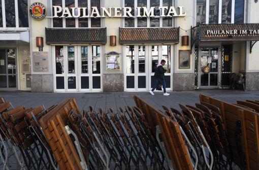 Söder: Gastronomie ab Freitagnacht bundesweit geschlossen