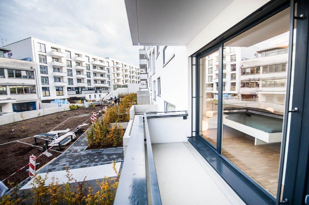 Wir halten die Baufortschritte der Stuttgarter Großbaustellen regelmäßig in Fotos fest. Heute ist das Maybach-Quartier am Killesberg-Park an der Reihe.  Foto: www.7aktuell.de   Florian Gerlach