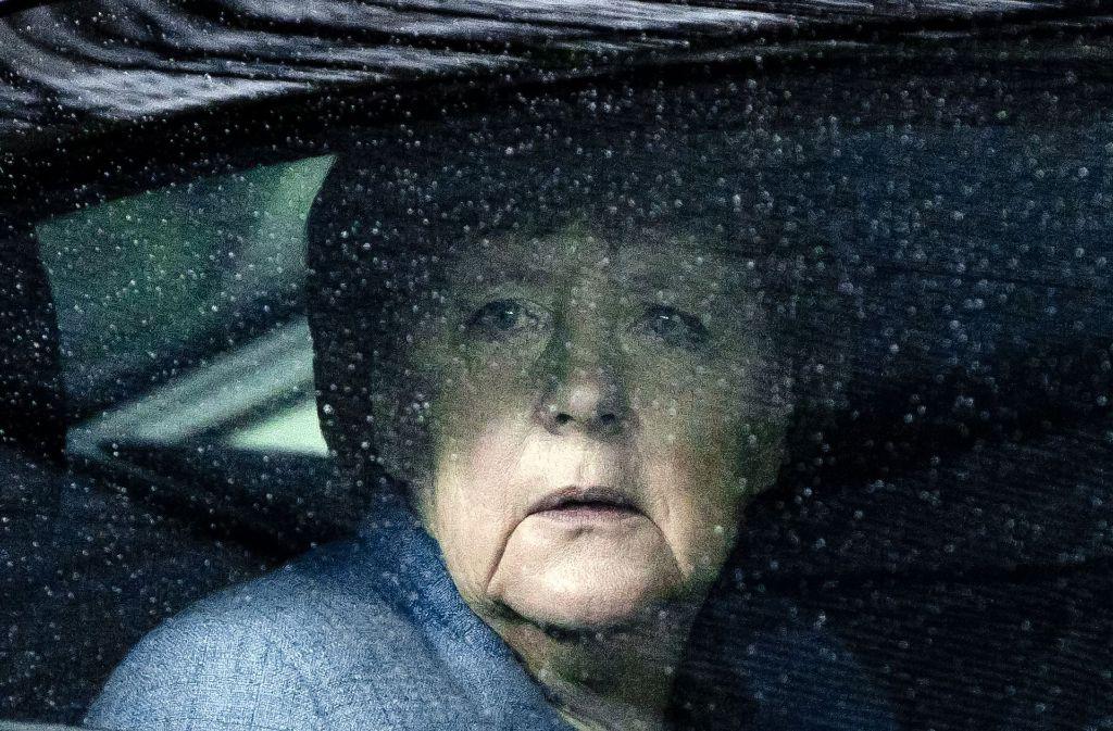Trübe Aussichten: Die Kanzlerin kann wohl weiter regieren – nur wofür eigentlich? Foto: dpa