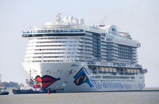 Kreuzfahrtschiff Aidanova mit Umweltsiegel ausgezeichnet