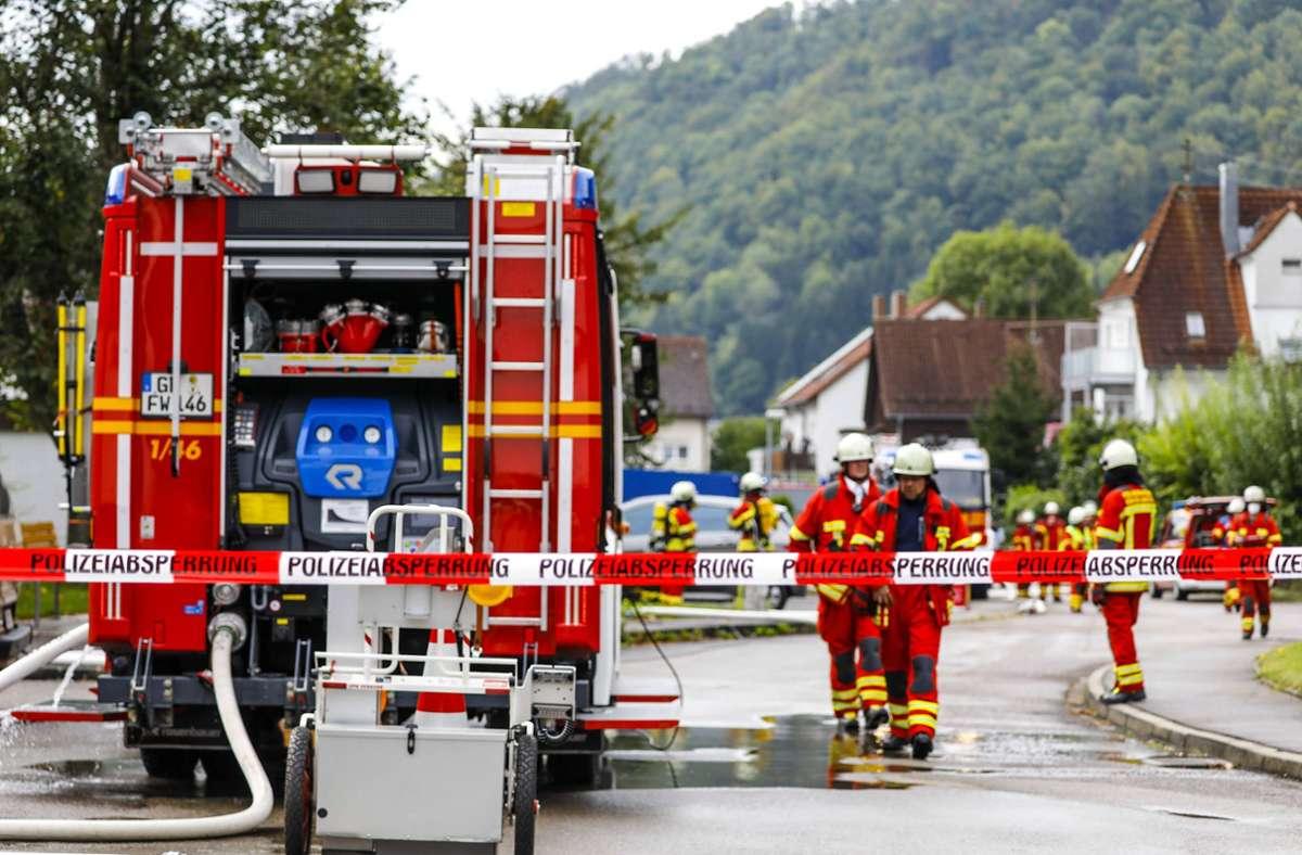 Die Explosion ereignete sich am Mittwochnachmittag. Foto: 7aktuell.de/Christina Zambito