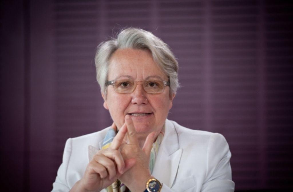 Annette Schavan hat sich schon im Jahr 2000 für islamischen Religionsunterricht in Baden-Württemberg ausgesprochen. Foto: dpa
