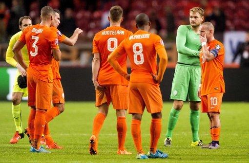 Debakel für die Niederlande