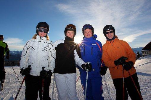 Großarl: Im Frühsport zu Berge