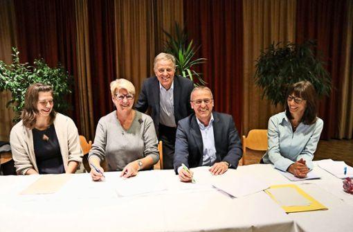 Zwei Sportvereine kooperieren in Zukunft